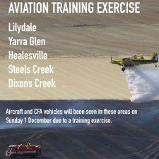Aviation Training Exercise 2019